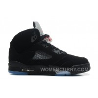 Air Jordan 5 Black/Varsity Red-Metallic Silver For Sale Online PyPb4m