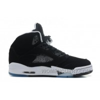 "Air Jordan 5 ""Oreo"" Black/Cool Grey-White For Sale Free Shipping X8isED"