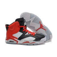 Air Jordan 6 Black White Red For Sale Online XQZtR8