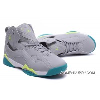 Air Jordan7 True Flight – Wolf Grey / Volt Ice-turbo Green Discount