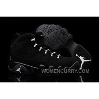 2017 Girls Air Jordan 9 Anthracite/White-Black For Sale Christmas Deals ThDmRZ