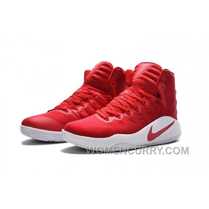 pretty nice 4ad62 8ad46 ... Girls Nike Hyperdunk 2016 University Red White University Red For Sale  Cheap To Buy ...