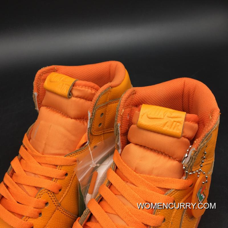 ... Latest Air Jordan 1 Generation 1 Og High Gatorade Orange Version Level  Sku Air 5 Number ... 4021fe8cf2cc