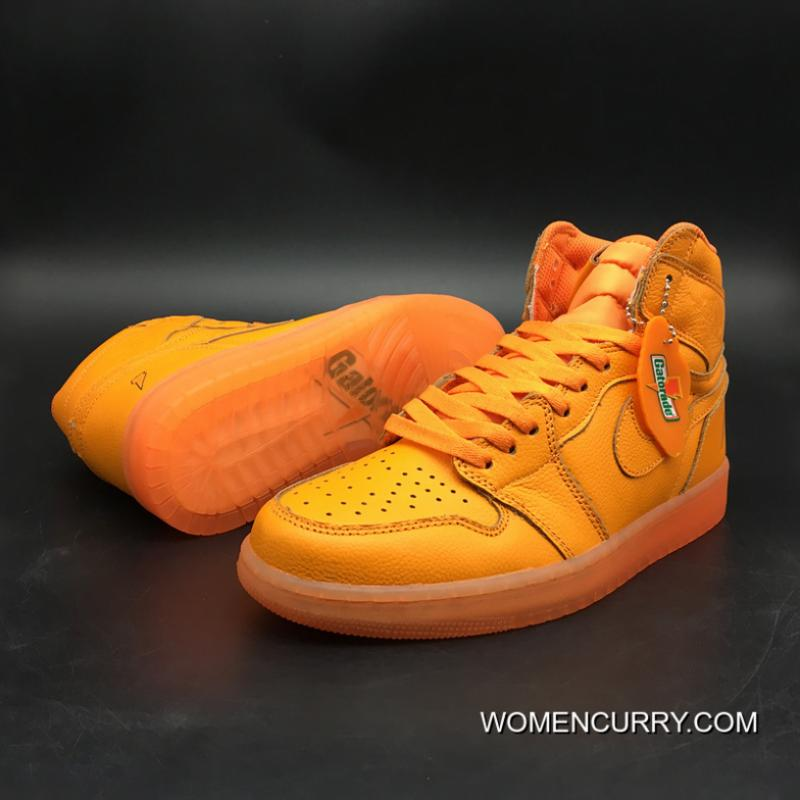 newest collection 7d130 05ed1 Latest Air Jordan 1 Generation 1 Og High Gatorade Orange Version Level Sku  Air 5 Number 7 To 13 997-880 Yards