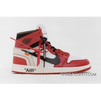 Lastest 36 To 46 Sku Aa3834-101 Off-White X Air Jordan1 Jordan 1 For White Limited
