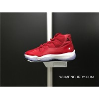 Top Deals 378037-623 Air Jordan 11 Gym Red Carbon True Shoes Also Red And White Colorways Men