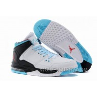 Mens Jordan Flight Origin White/Black/Gamma Blue/Gym Red For Sale SRGXF