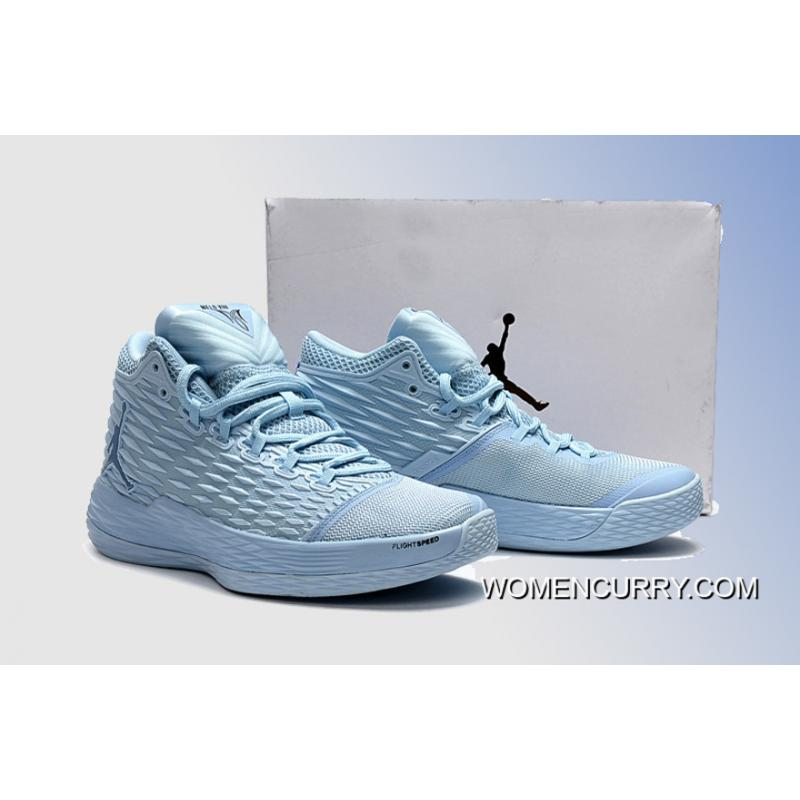fef9ae8c19922a ... New Jordan Melo M13 Energy  Ice Blue  - Release Free Shipping