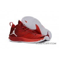 New Jordan Super.Fly 5 – Gym Red/White/Infrared 23 Lastest