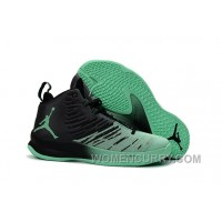 Mens Jordan Super.Fly 5 Black/Green Glow For Sale Christmas Deals AGASn