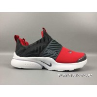 Online Nike Slip On 3 Kids Shoes Grey Red