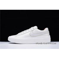 New Year Deals Hyx63308 NikeLab Grand Volee Series All Grand-match Flatform Sneakers Rice White AH0254-101