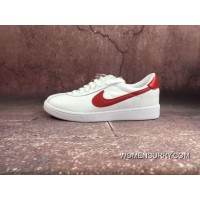 611e31d7964d1 NIKE BRUIN LEATHER Back To Future White Red Sneakers 826670-160 Top Deals