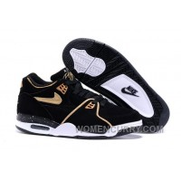 Nike Air Flight '89 Black/Metallic Bronze-White Mens Basketball Shoes Christmas Deals YiyKyt