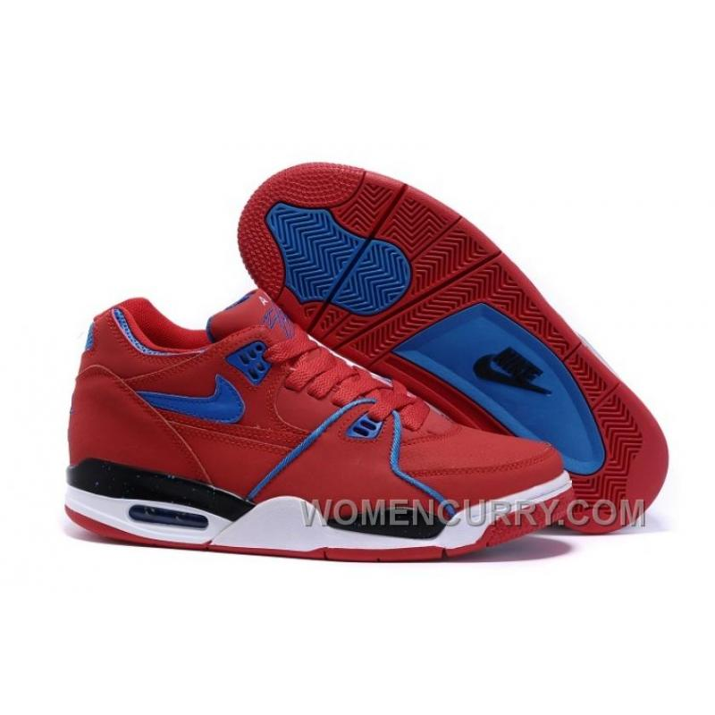 Nike Air Flight 89 University RedGame Royal Sports Mens Basketball Shoes Top Deals