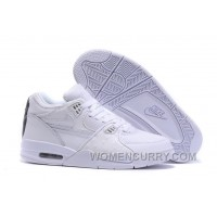 Nike Air Flight '89 White/White-White Mens Basketball Shoes For Sale 2ZHzKFG