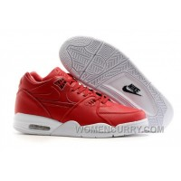 NikeLab Air Flight 89 Gym Red/White-Gym Red Mens Basketball Shoes Super Deals JTnMF