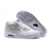 NikeLab Air Flight 89 White/White-White Mens Basketball Shoes Lastest YTssZ