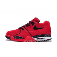 Nike Air Jordan Air Flight 89 Red Suede Women/Men Online