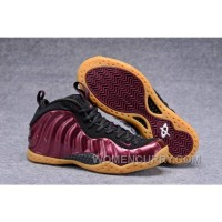 """2017 Nike Air Foamposite One """"Maroon"""" Mens Basketball Shoes Cheap To Buy Y8kNE8"""