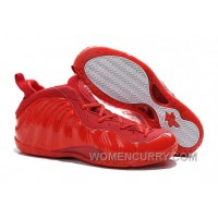Nike Air Foamposite One All Red For Sale Lastest YymTr7