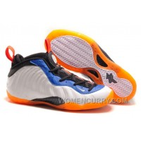 "Nike Air Foamposite One ""Knicks Home"" Mens Basketball Shoes Online M5dfC"