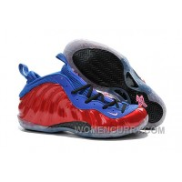 Nike Air Foamposite One Red Blue For Sale Authentic NZNQACT