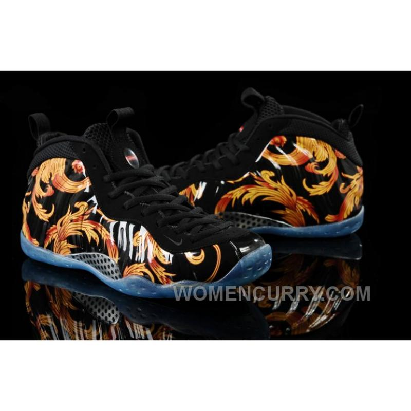 """... Supreme X Nike Air Foamposite One """"Black"""" Mens Basketball Shoes  Authentic PmDYfi ..."""
