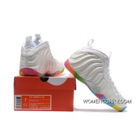designer fashion 84fcd 60546 Nike Air Foamposite One White And Colorful Online