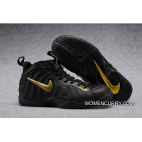 "Nike Air Foamposite Pro ""Black Gold""- Releasing New Style"