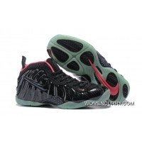 Nike Air Foamposite Solar Red-Black /Red Release New Style