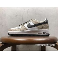 Nike Snake Air Sneaker Version Nike Air Force 1 Low Cocoa 845053-104 Discount