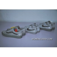 Hot Sale Colorways In Vancouver Canada Brand To Be Reigning Field X Nike Air Force 1 Low All-match A Classic Gray Ash Sneakers Aa1117-118 Discount