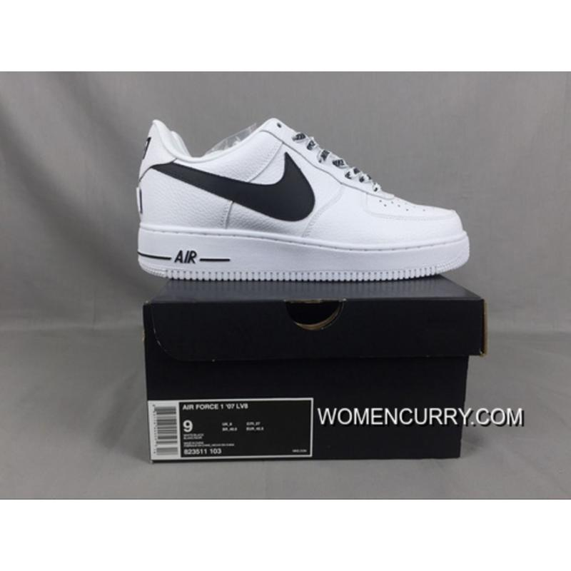 For Sale Nike Air Force 1 Bass Af1 X The Nba To Be White And Black ... b7176265f