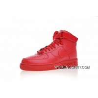 Best The Festival Atmosphere Is Very Prosperous Nike Air Force 1 High Id All-Match One Classic Sneakers Red Aq3771-991 In China