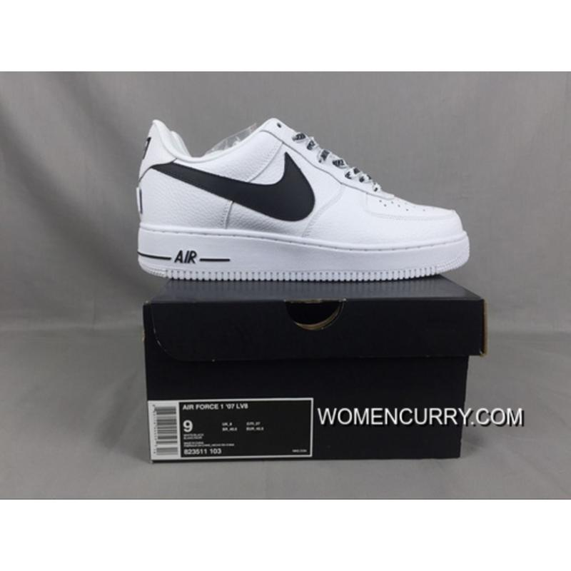 Super Deals Nike Air Force 1 Low Af1 X The Nba To Be White And Black ... 5bdcf86b51ce
