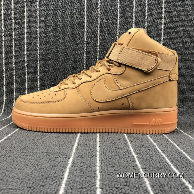 Best Nike Air Force 1 High 07 LV8 WB One AF1 Wheat Suede High Size ... a468471a33aa
