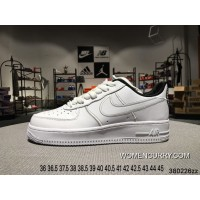 Super Deals Nike Air Force 1 07 Low AF1 Valentine S Day Limited Pure White Low Sneakers AJ0867-100 Size