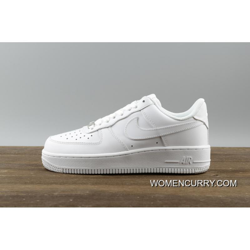 Top Deals Nike Air Force 1 07 Prm AF1 Pure White 315115 112 75b41a33ad46