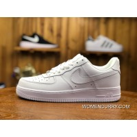New Release Air Force FULL GRAIN LEATHER Nike 1 07 Retro Men Women Sneakers  Air Max afe8370dc47b