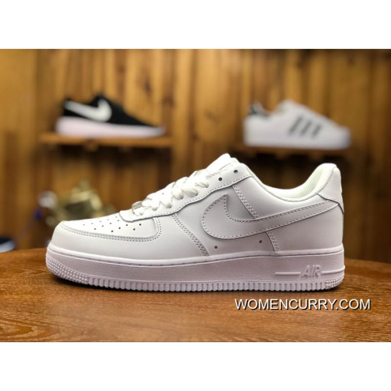 New Release Air Force FULL GRAIN LEATHER Nike 1 07 Retro Men Women ... 5a4ed2fdc77f