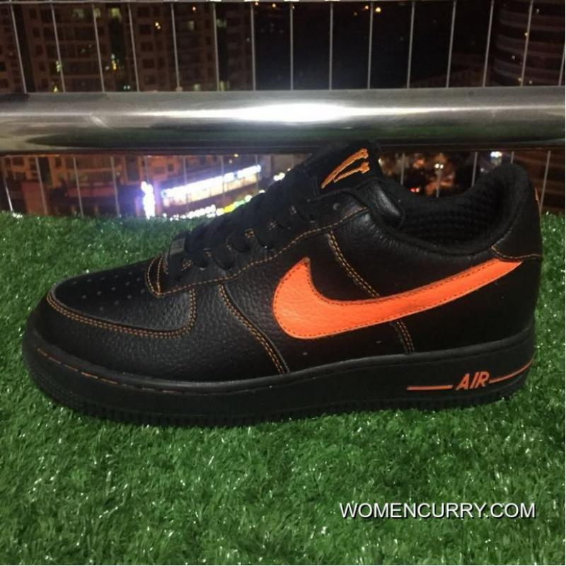 USD  86.89  367.98. Authentic Nike Af1 Vlone Air Force 1 Black Orange Chen  One Limited ... 1696c9d04