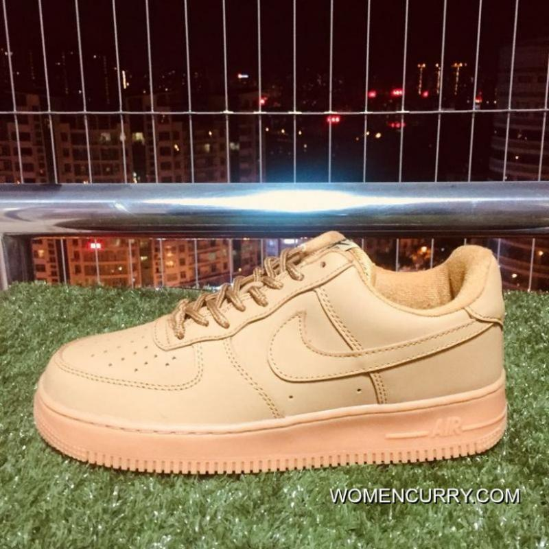 Nike Air Force One Af1 Classic Wheat Color 943312-200 For Sale ... a5637e7ca595