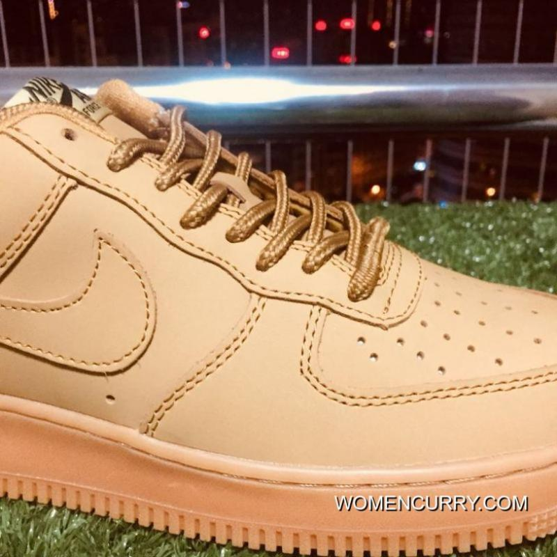 ... Nike Air Force One Af1 Classic Wheat Color 943312-200 For Sale ... b4c1b9ee5