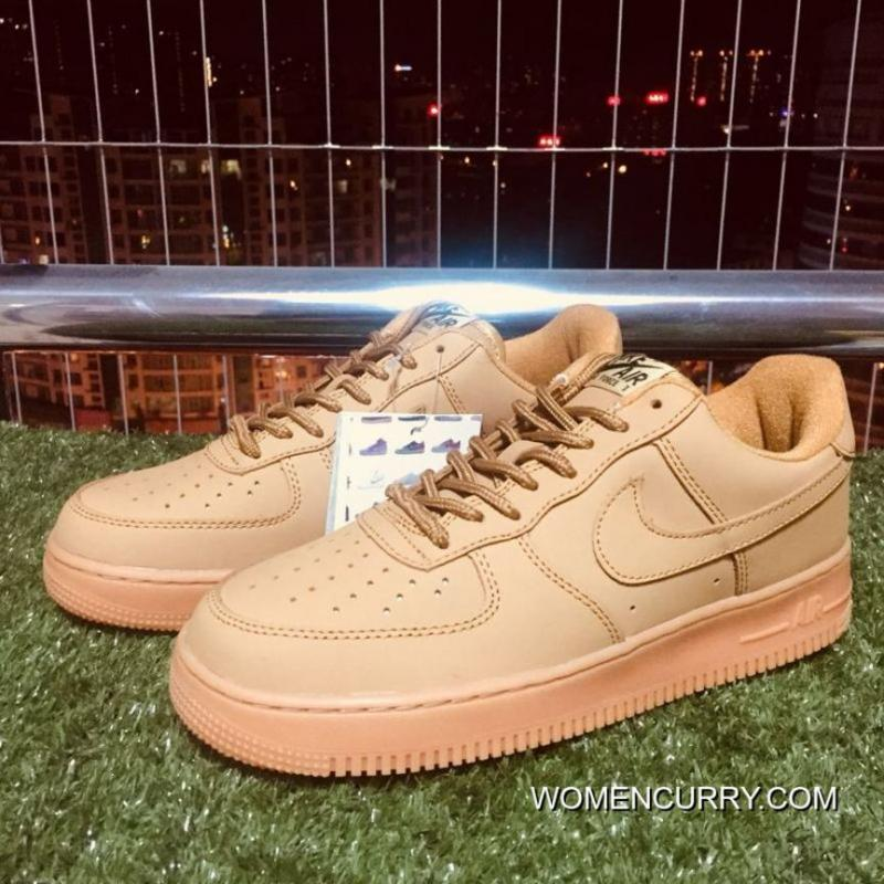 ... Nike Air Force One Af1 Classic Wheat Color 943312-200 For Sale ... 06f28e3bc