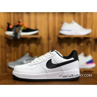 Nike Air Women Shoes And Men Shoes AF1 Air Force One Sneakers White Black  AA0287- def5b67b0