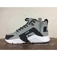 Outlet Fall Winter Style Nike Air Huarache Four S 4 High City Be X Acronym  856787
