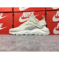 Online Nike Air Huarache 4 Texture Pig Leather Series Ultra Id Customized Beige 829669-665