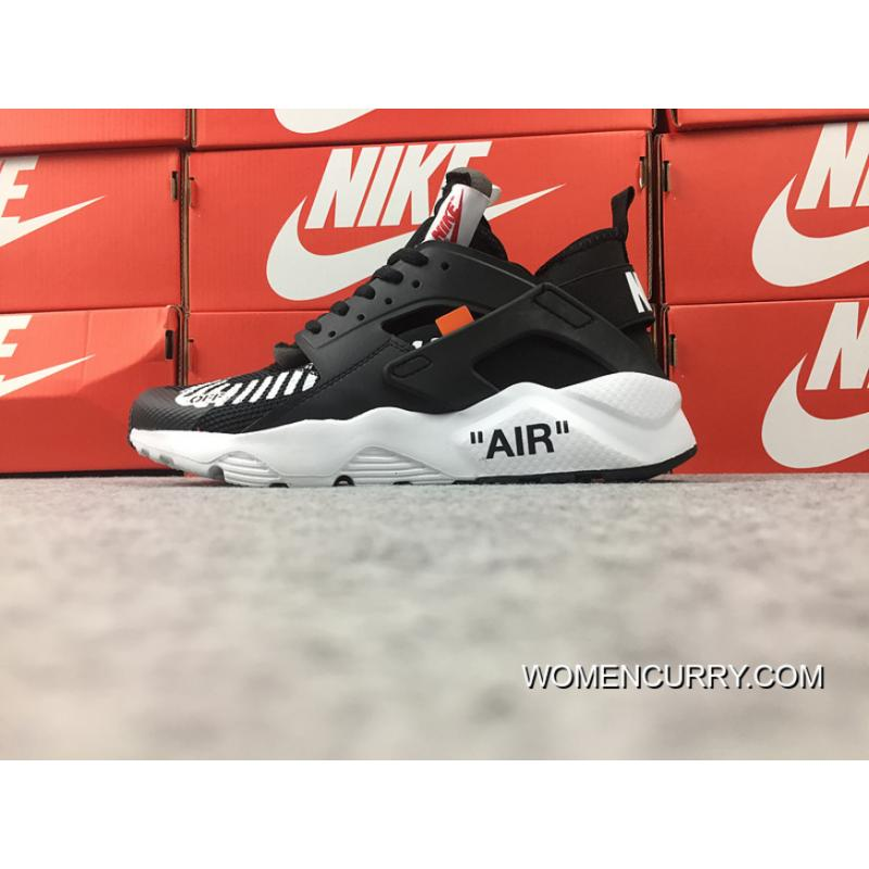 release date d41f0 ce367 Nike Air Huarache Four 4 Ultra Run To Be Publishing OFF-WHITE AA3841-002  Black WHITE Discount