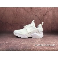 For Sale NIKE Air Huarache CITY LOW 5 Running Shoes All White AH6804 100